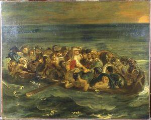 Eugène Delacroix, 'The Shipwreck of Don Juan', about 1840