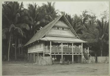 House of the Chief of the town of Benteng, Selayar, c.1911